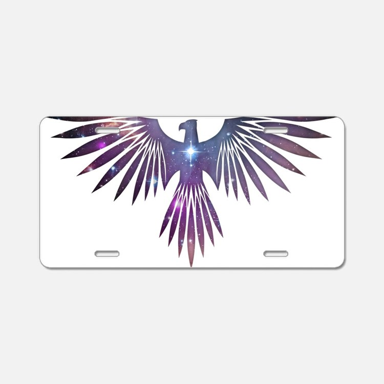 Bird of Prey Aluminum License Plate