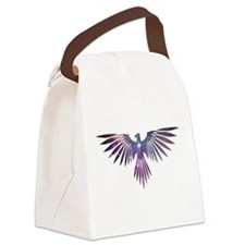 Bird of Prey Canvas Lunch Bag