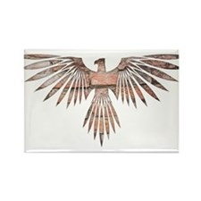 Bird of Prey Rectangle Magnet (10 pack)