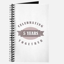 Vintage 5th Anniversary Journal