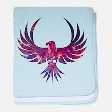Bird of Prey baby blanket