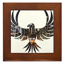 Bird of Prey Framed Tile