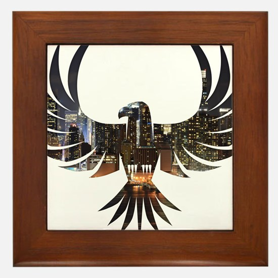 Bird of Prey Framed Tile
