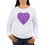 Hesta Heartknot Women's Long Sleeve T-Shirt