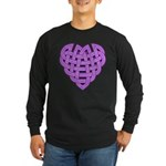 Hesta Heartknot Long Sleeve Dark T-Shirt