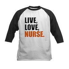 live love nurse Baseball Jersey