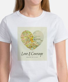 Boston Love and Courage T-Shirt