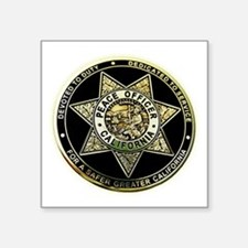 California Peace Officer Sticker