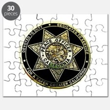 California Peace Officer Puzzle