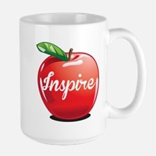 Inspire Apple for Teacher Mug