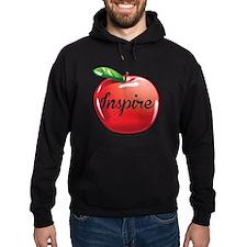 Inspire Apple for Teacher Hoodie