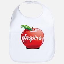 Inspire Apple for Teacher Bib