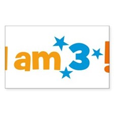 I am 3! Decal