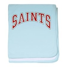 Saints baby blanket
