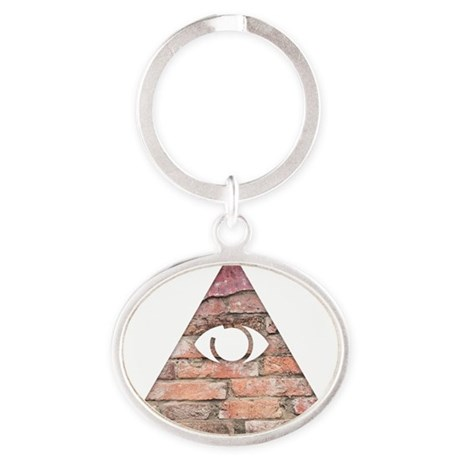 Triangle Eye Keychains