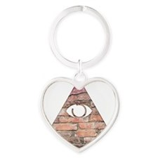 Triangle Eye Keychains