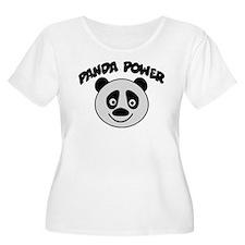 Panda Power Plus Size T-Shirt