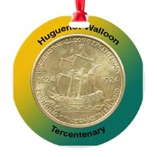 Huguenot-Walloon Coin Ornament