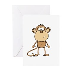 The Monkey Greeting Cards (Pk of 10)