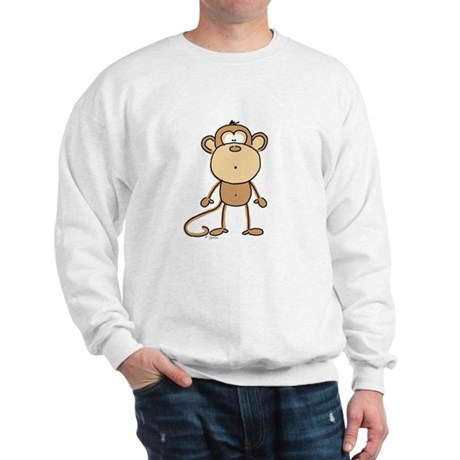 Oooh Monkey Sweatshirt