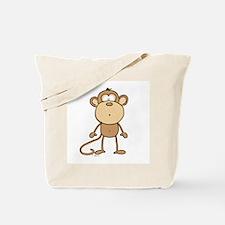 Oooh Monkey Tote Bag