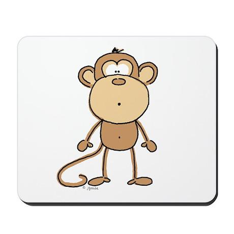 Oooh Monkey Mousepad