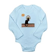 little Indian chief kitty cat Body Suit