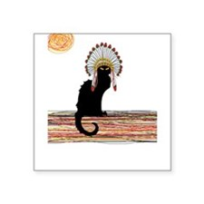little Indian chief kitty cat Sticker