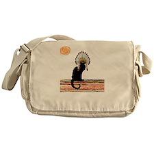 little Indian chief kitty cat Messenger Bag