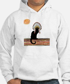 little Indian chief kitty cat Hoodie