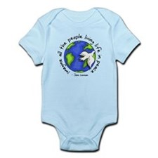 Cute War slogan Infant Bodysuit