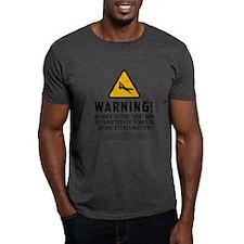 Drone Strike Warning T-Shirt