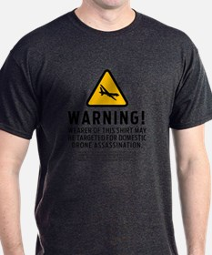 Drone Strike Warning T-Shirt