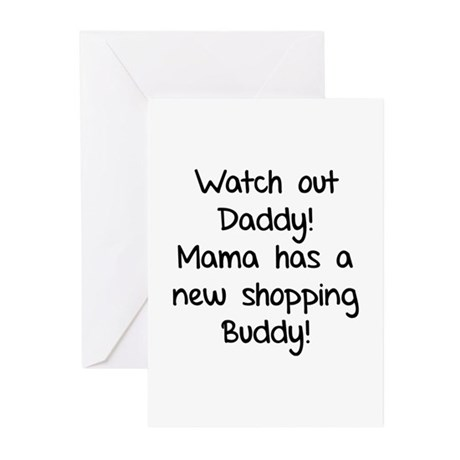 Watch Out Daddy! Greeting Cards (Pk of 20)