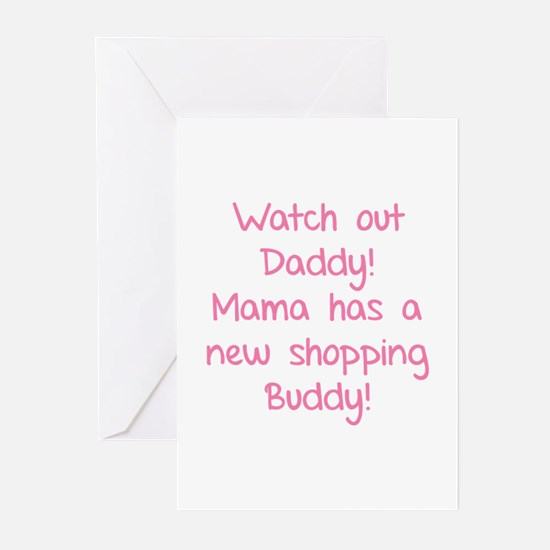 Watch Out Daddy! Greeting Cards (Pk of 10)