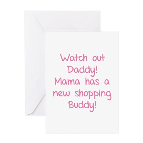 Watch Out Daddy! Greeting Card