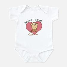 Monkey Love Infant Bodysuit