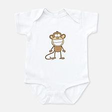 Big Monkey Grin Infant Bodysuit