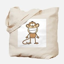 Big Monkey Grin Tote Bag