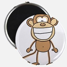 """Big Monkey Grin 2.25"""" Magnet (10 pack)"""
