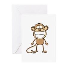 Big Monkey Grin Greeting Cards (Pk of 10)