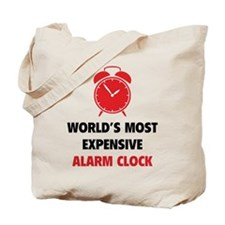 World's Most Expensive Alarm Clock Tote Bag