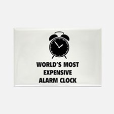 World's Most Expensive Alarm Clock Rectangle Magne