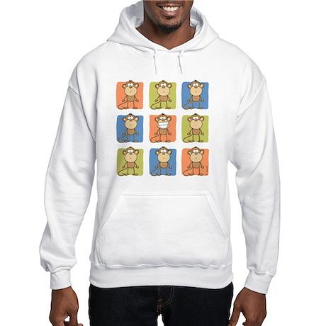 9 Monkeys Hooded Sweatshirt