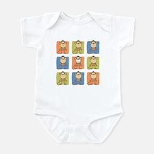 9 Monkeys Infant Bodysuit