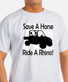 Save A Horse Ride A Rhino T-Shirt