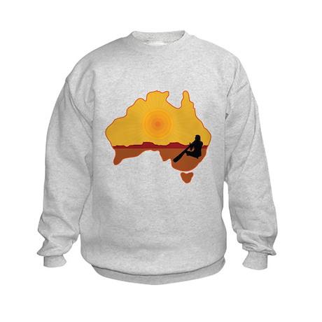 Australia Aboriginal Kids Sweatshirt