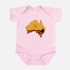 Australia Aboriginal Infant Bodysuit
