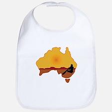 Australia Aboriginal Bib