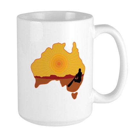 Australia Aboriginal Large Mug